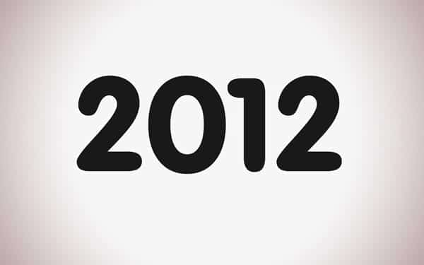 facts about the year 2012