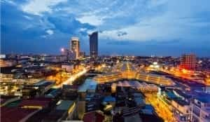 Phnom Penh today divided between poor and rich