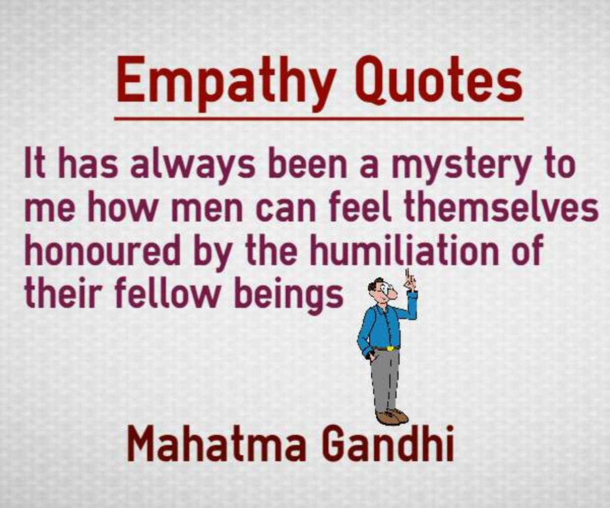 what does empathy mean
