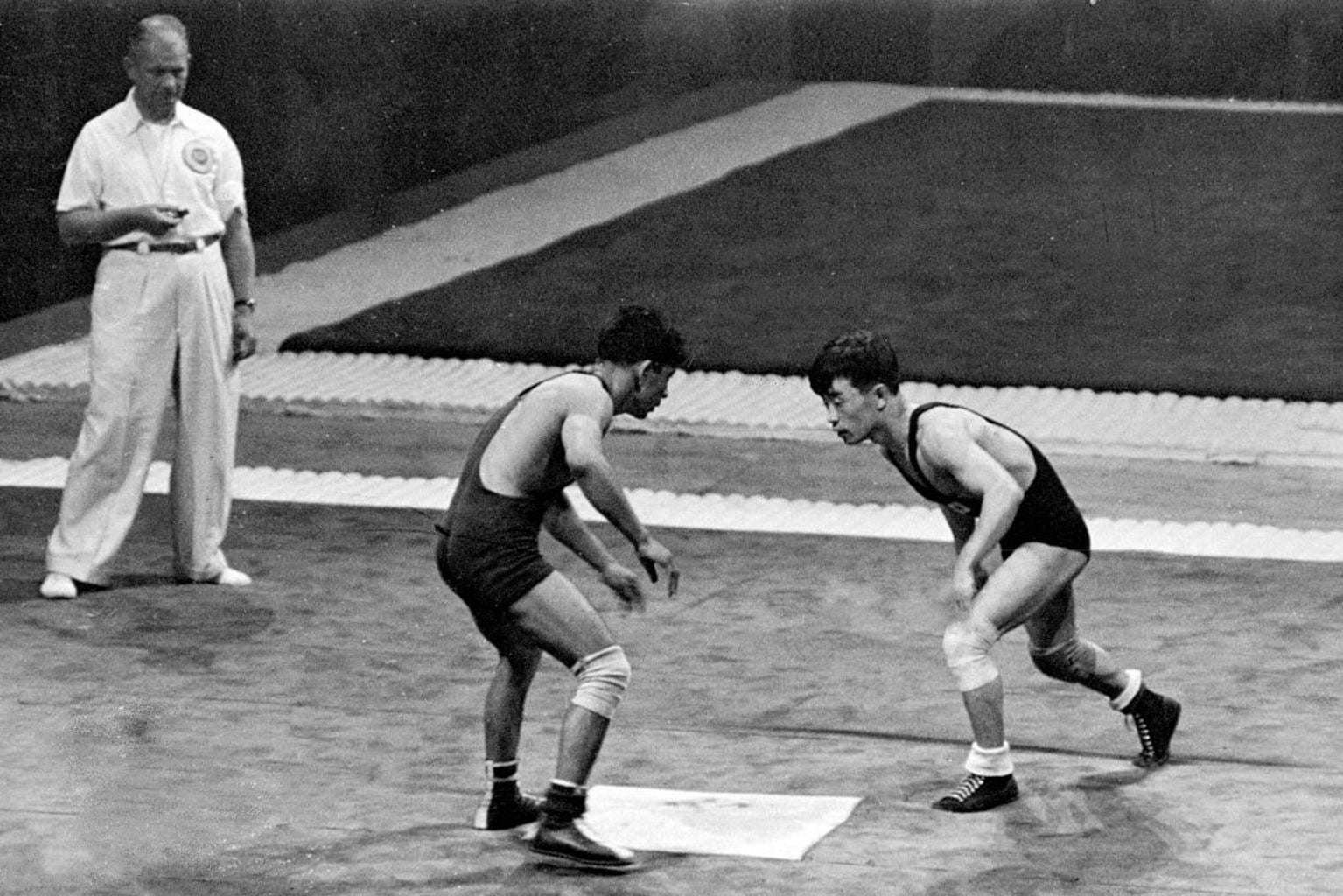 longest wrestling match in olympic history