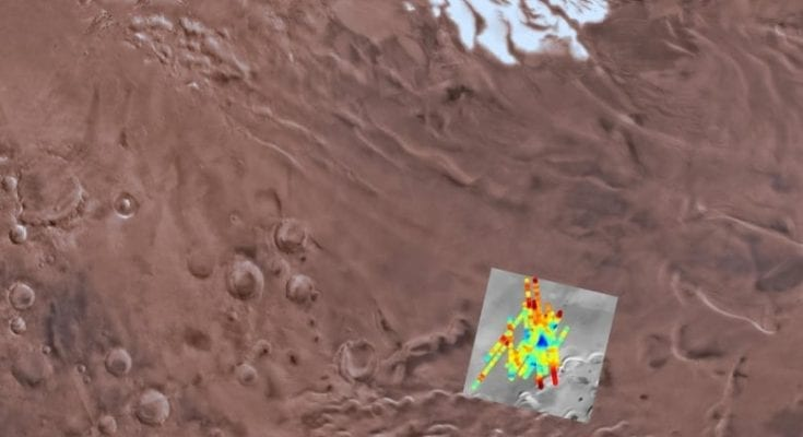 A lake of water was found on Mars — and may be the first of many