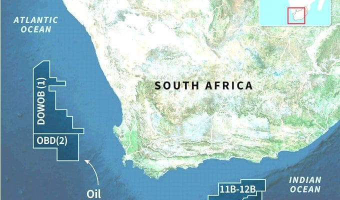 France's total unveils 'significant' offshore S. African gas find