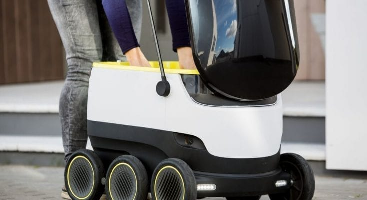 delivery robot facts