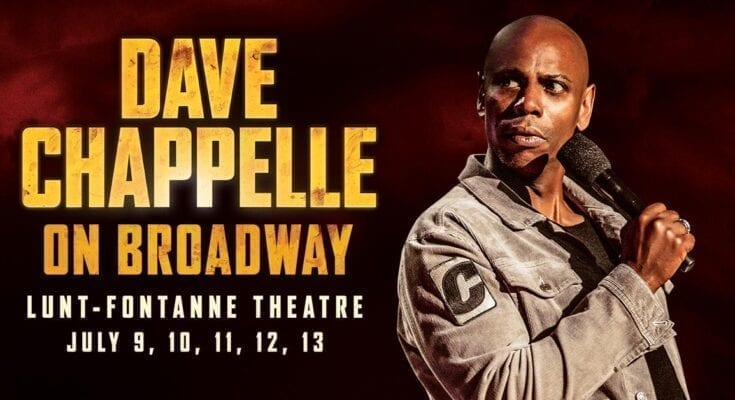 Dave Chappelle Broadway tickets