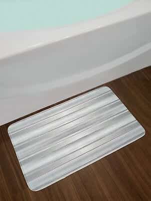 non slip bath mat without suction cups