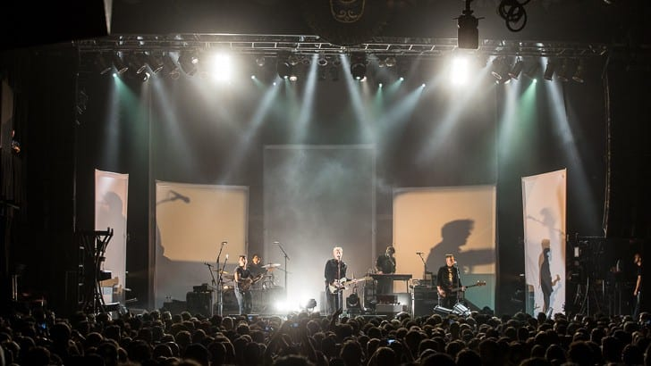 BOSTON, MA - JUNE 18: Led by Britt Daniel, Austin TX-based Spoon plays their first non-festival show in Boston in over five years at the sold out House of Blues. Support by Viva Viva. Shot at House of Blues on Thursday, June 18, 2015. All Rights Reserved © Tim Bugbee