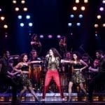 Christie Prades as Gloria Estefan and Company, ON YOUR FEET! Photo by Matthew Murphy