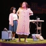 Brook Shapiro and Blake Hammond in Hairspray. Photo by Paul Lyden.