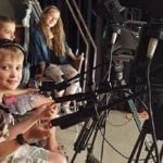 Cute kids love community media. Photo courtesy of Somerville Media Center.