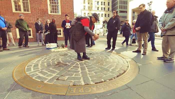 Boston Massacre Crispus Attucks