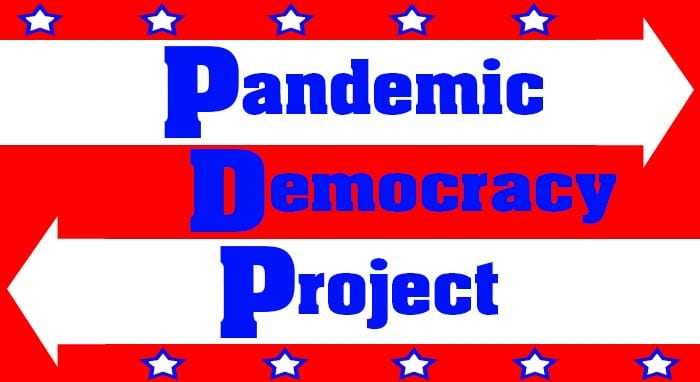 Pandemic Democracy Project banner