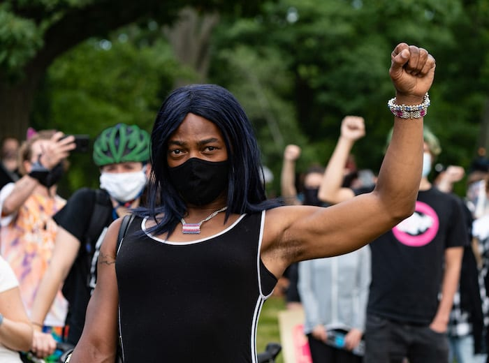 Black Trans Lives Matter rally in Boston