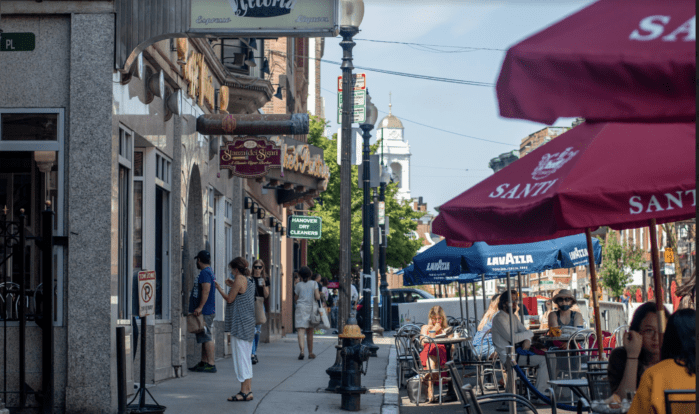 North End pandemic dining