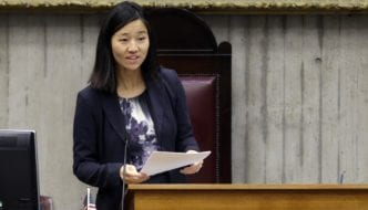 CITY COUNCILOR MICHELLE WU REVEALS FOOD JUSTICE POLICY PLAN